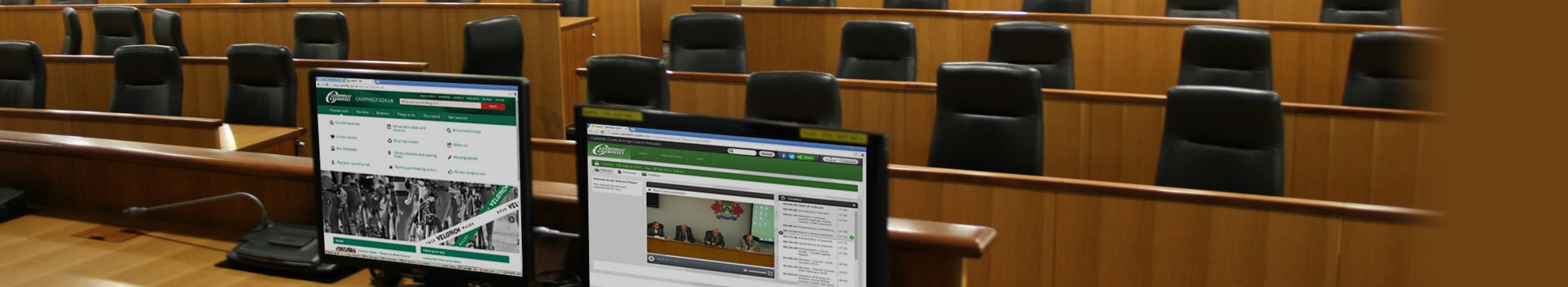 Webcasting - council chamber