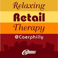 Relaxing retail therapy logo