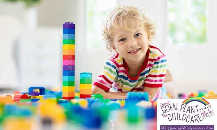 ​Caerphilly resumes the childcare offer